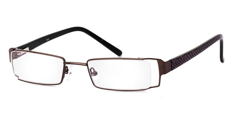 Vista First 1039 Stainless Steel/ZYL Full Rim Mens Optical Glasses