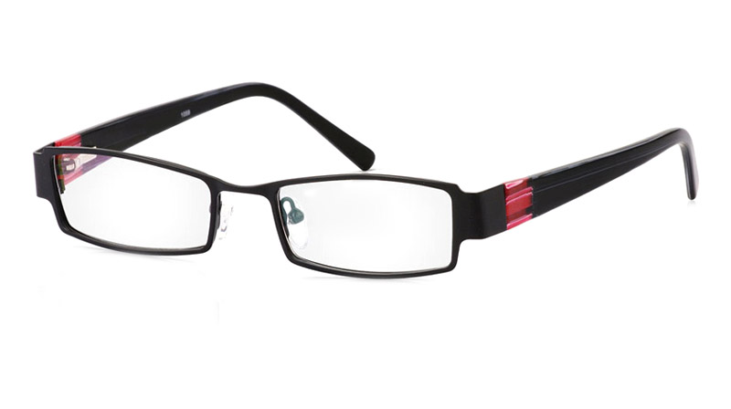 Vista First 1059 Stainless Steel/ZYL Full Rim Mens Optical Glasses