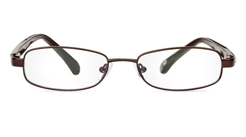 Vista First 1048 Stainless Steel/ZYL Full Rim Mens Optical Glasses