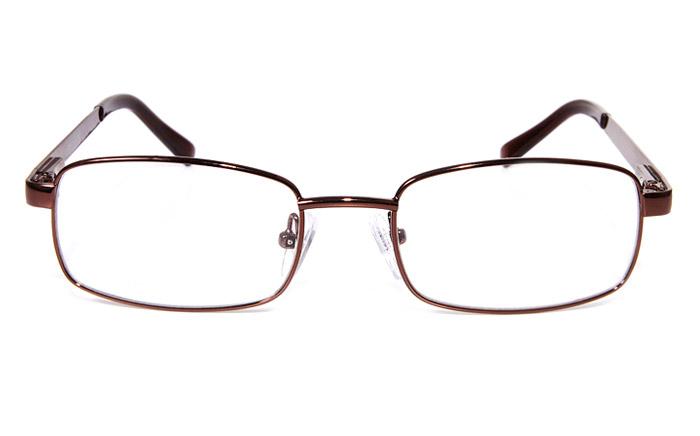 Poesia eso6602 Stainless Steel Mens&Womens Full Rim Optical Glasses