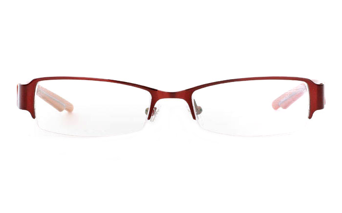 E1039 Stainless Steel Mens&Womens Half Rim Optical Glasses