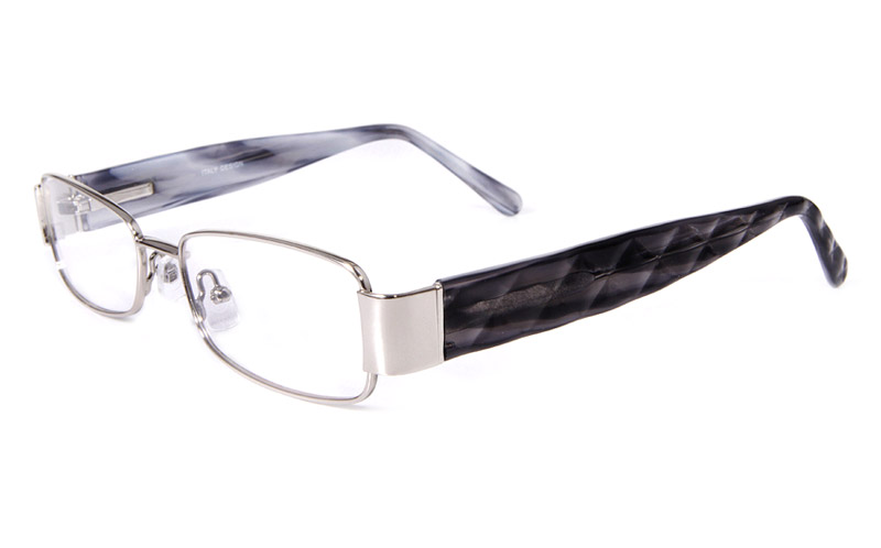 Vista First 1601 Stainless Steel/ZYL Mens&Womens Full Rim Optical Glasses