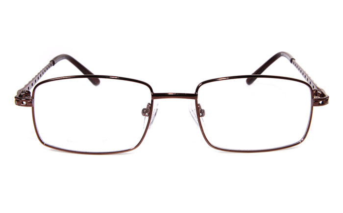 Poesia eso6610 Stainless Steel Mens&Womens Full Rim Optical Glasses