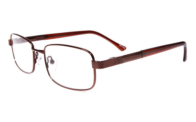 Poesia eso6605 Stainless Steel Mens&Womens Full Rim Optical Glasses