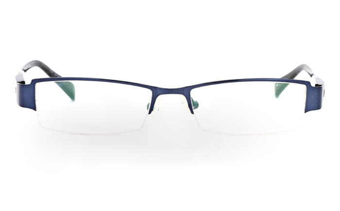 VN-006 Stainless Steel/ZYL Mens&Womens Half Rim Optical Glasses