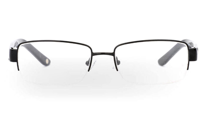 CR3492B Stainless Steel/ZYL Half Rim Mens Optical Glasses