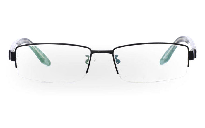 9837 Monel Half Rim Mens Optical Glasses