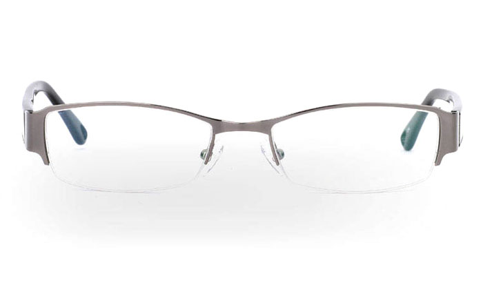 OD-049 Stainless Steel/ZYL Half Rim Mens Optical Glasses