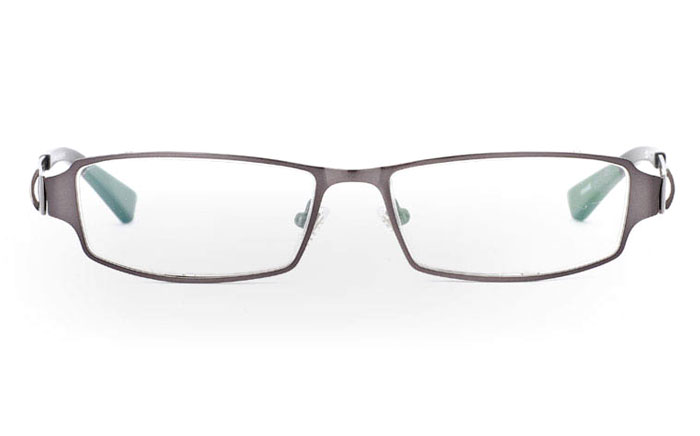 E1008 Stainless Steel Mens&Womens Half Rim Optical Glasses