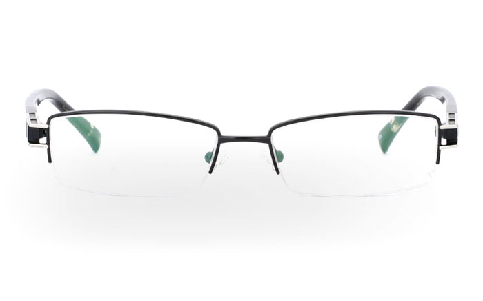 VN-007 Stainless Steel/ZYL Half Rim Mens Optical Glasses