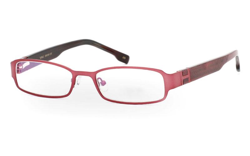 SF862 Stainless Steel/ZYL Half Rim Mens Optical Glasses