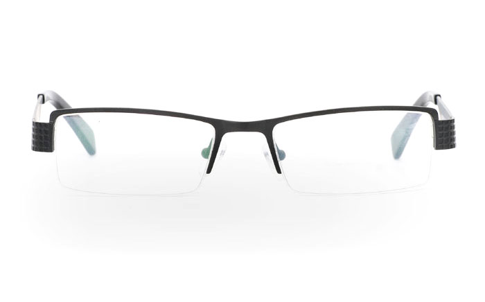 VPR2081V Stainless Steel/ZYL Half Rim Mens Optical Glasses