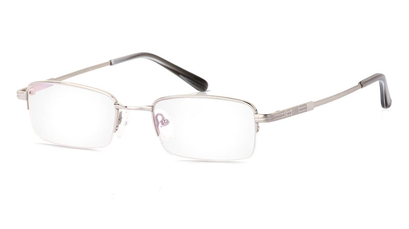 Vista First 2013 Titanium Memory Half Rim Mens Optical Glasses