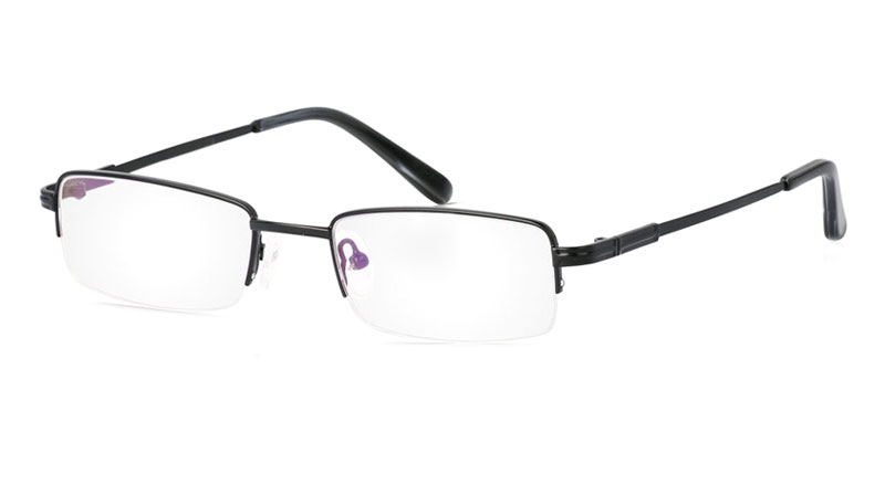 Vista First 2018 Titanium Memory Mens&Womens Half Rim Optical Glasses