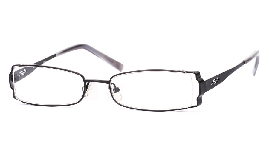 Vista First 1023 Stainless Steel/ZYL Full Rim Mens Optical Glasses