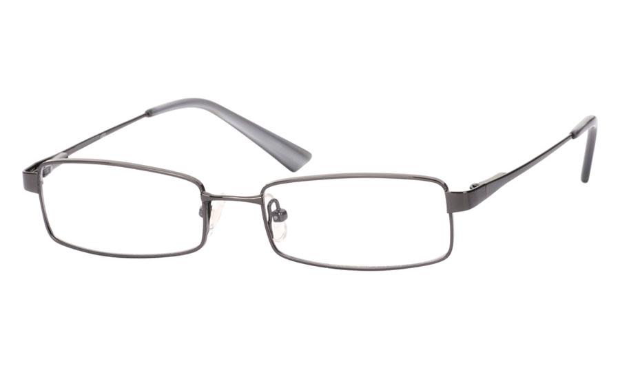 Poesia 1020 Stainless Steel/ZYL Full Rim Mens Optical Glasses