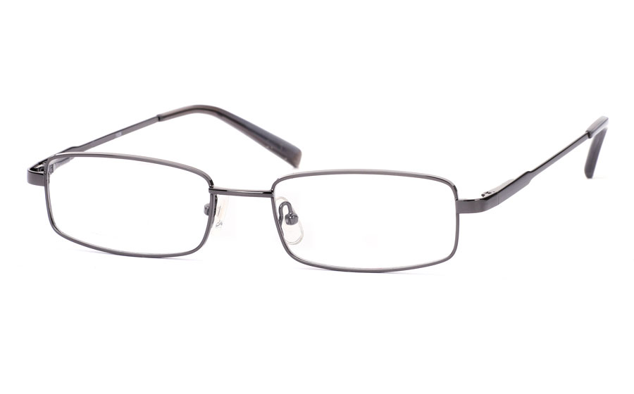 Vista First 1026 Stainless Steel/ZYL Full Rim Mens Optical Glasses