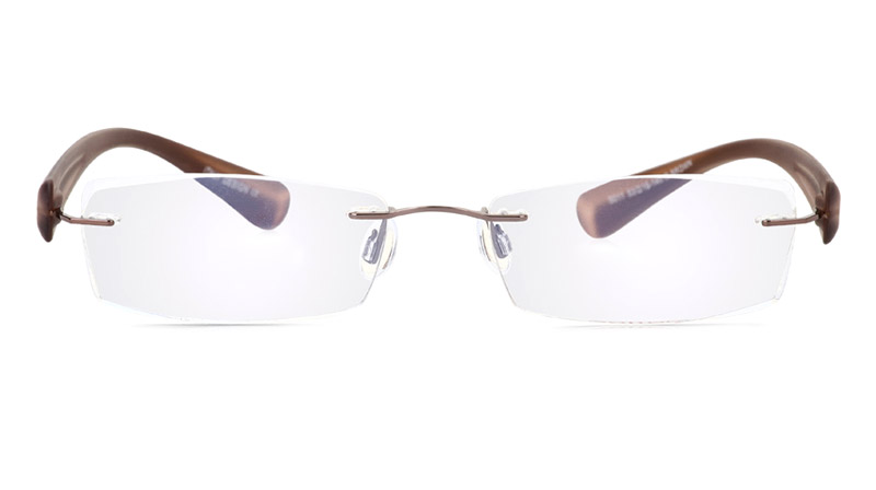 Vista First 5011 Stainless Steel Mens&Womens None Optical Glasses