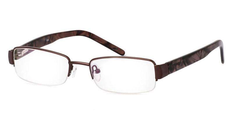 Vista First 1082 Stainless Steel Mens&Womens Semi-rimless Optical Glasses