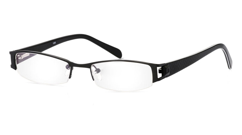Vista First 1088 Stainless Steel/ZYL Mens&Womens Half Rim Optical Glasses