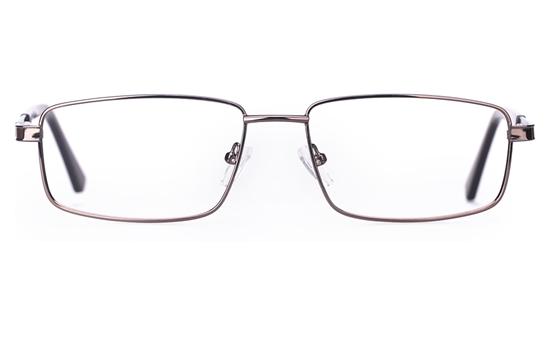 Poesia 6050 Stainless Steel Mens Full Rim Optical Glasses