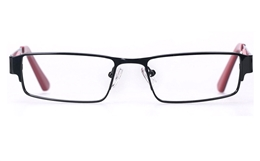 Vista First 8818 Stainless Steel Mens   Womens Full Rim Optical Glasses for Fashion,Classic,Nose Pads Bifocals