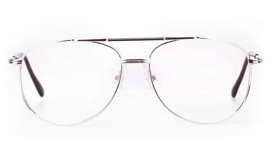 Poesia D12 Stainless Steel Mens Full Rim Optical Glasses