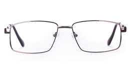 Poesia 6049 Stainless Steel Mens Full Rim Optical Glasses