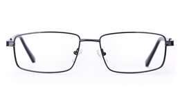 Poesia 6050 Stainless Steel Mens Full Rim Optical Glasses