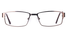 Poesia 6650 Stainless Steel Mens Full Rim Optical Glasses