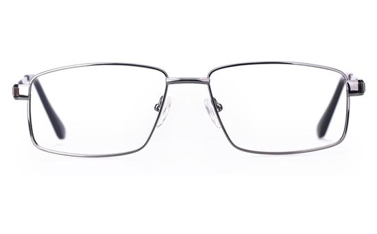 Poesia 6049 Stainless Steel Mens Full Rim Optical Glasses