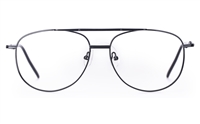Poesia D12 Stainless Steel Mens Full Rim Optical Glasses