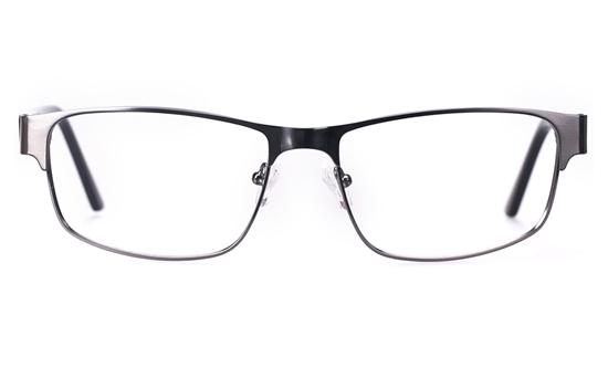 Vista First 1632 Stainless Steel/ZYL Mens Full Rim Optical Glasses
