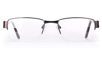 Vista First 1631 Stainless Steel/ZYL Mens Semi-rimless Optical Glasses