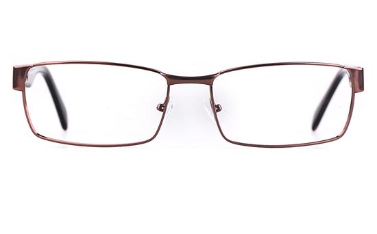 Poesia 7706 Stainless steel/ZYL Mens Full Rim Optical Glasses