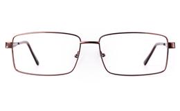 Poesia 7702 Stainless steel/ZYL Mens Full Rim Optical Glasses