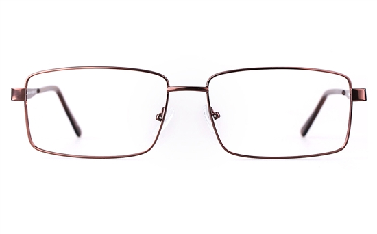 Poesia 7702 Stainless steel/ZYL Mens Full Rim Optical Glasses