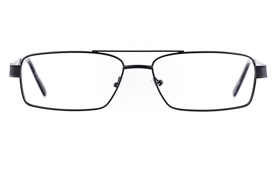 Poesia 7703 Stainless steel/ZYL Mens Full Rim Optical Glasses