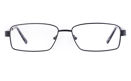 Poesia 7704 Stainless steel/ZYL Mens Full Rim Optical Glasses