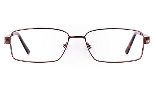 Poesia 7704 Stainless steel/ZYL Mens Full Rim Optical Glasses
