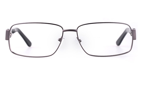 Vista First 1635 Stainless steel/ZYL Mens Full Rim Optical Glasses