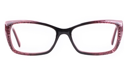 Vista First 0198 Acetate(ZYL) Womens Full Rim Optical Glasses for Fashion,Classic,Party,Sport Bifocals