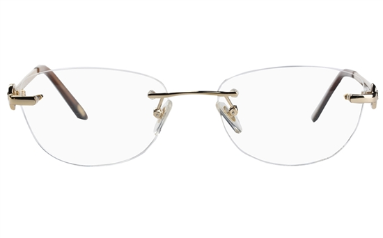 Vista First 8930 Stainless steel/ZYL Womens Rimless Optical Glasses
