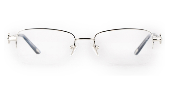 Vista First 8911 Stainless steel/ZYL Womens Semi-rimless Optical Glasses