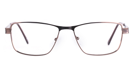 Poesia 6055 Stainless steel/PC Mens Full Rim Optical Glasses