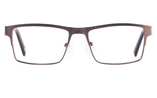 Poesia 6054 Stainless steel/PC Mens Full Rim Optical Glasses