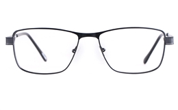 Poesia 6055 Stainless steel/PC Mens Full Rim Optical Glasses for Fashion,Classic,Nose Pads Bifocals