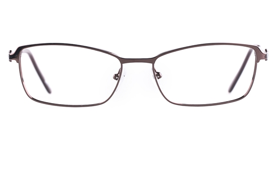 Poesia 6052 Stainless steel/PC Womens Full Rim Optical Glasses