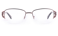 Vista First 8822 Stainless steel/ZYL Womens Semi-rimless Optical Glasses
