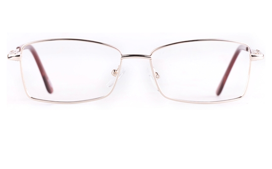 Poesia 6654 Stainless steel/PC Womens Full Rim Optical Glasses